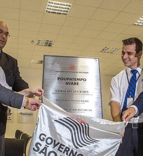 Governador Geraldo Alckmin presenta na inauguração Best Center Avaré