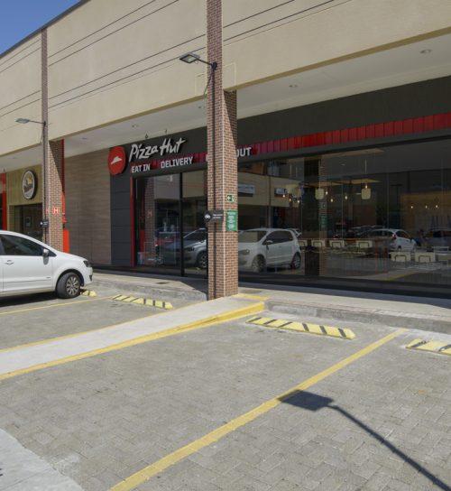 Best Center Campinas - Chácara Primavera Pizza Hut e estacionamento